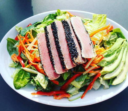 *Ahi Tuna Salad Image