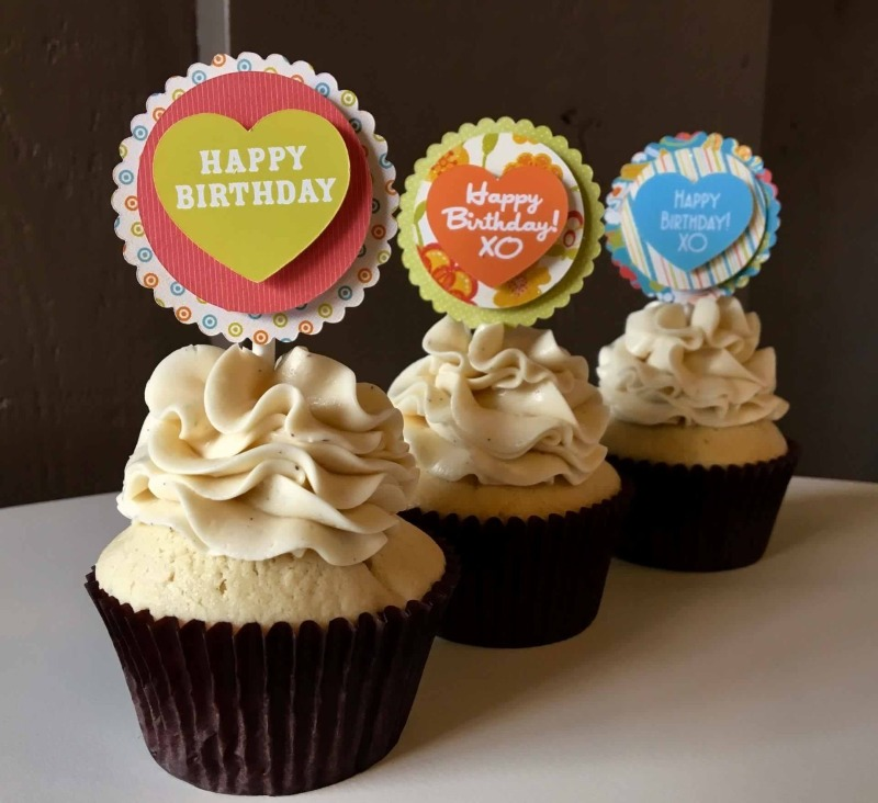 Say it with a Cupcake Topper Image
