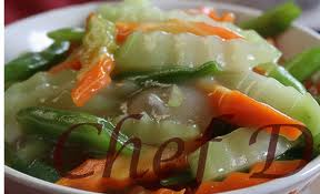 Vegetable Chop Suey Image