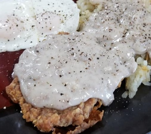Chicken Fried Steak 40-4oz (10lbs) fully cooked