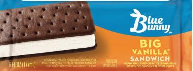 Ice Cream Sandwich (Blue Bunny)