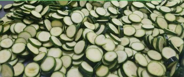Zucchini Coins - 1 lb Bag