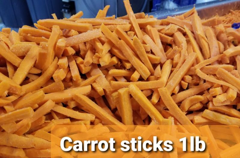 Carrot Sticks 3/8