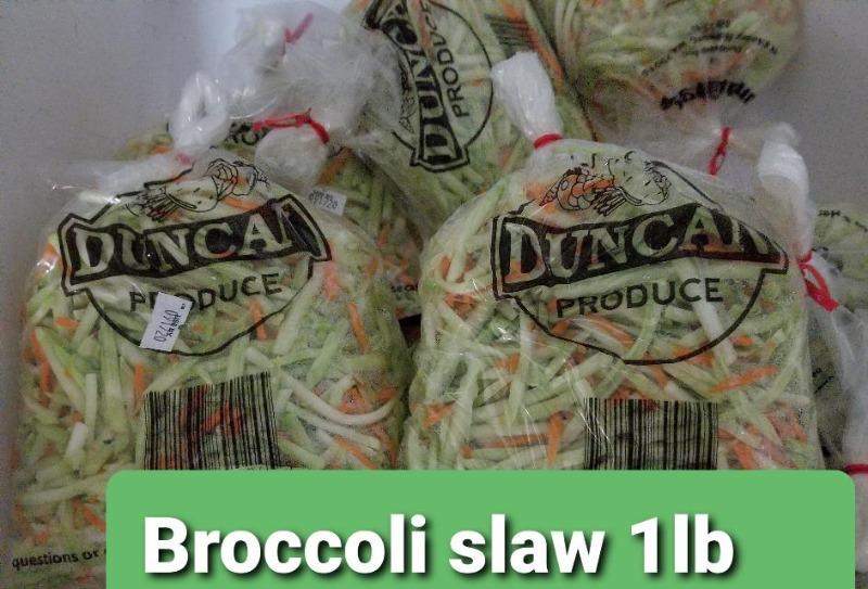 Broccoli slaw 1lb bag