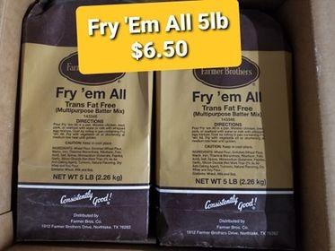 Fry 'Em All 5lb bag