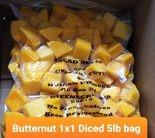 Butternut Squash 1x1 Diced 5lb bag