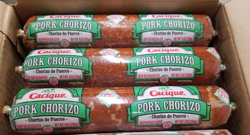 Pork Chorizo sausage 9oz chub
