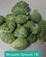 Brussel sprouts 1lb