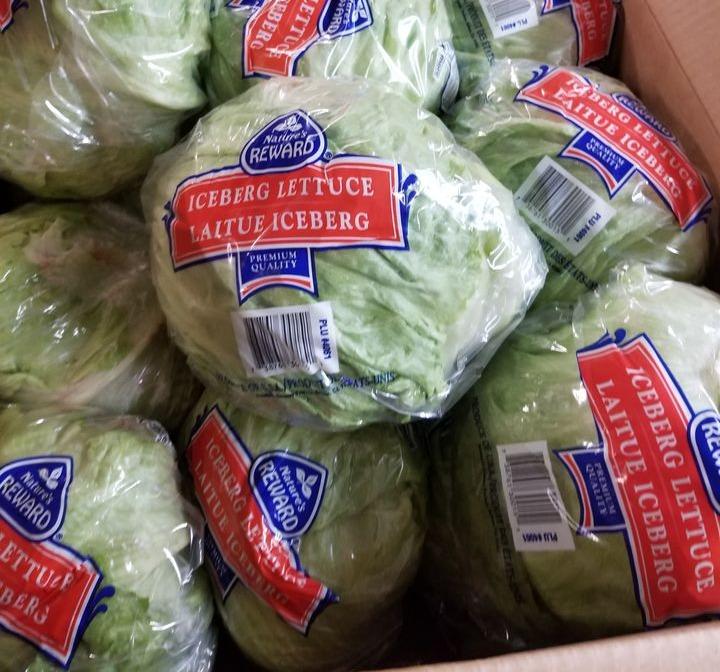Lettuce Iceberg 1 head