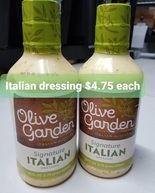 Olive Garden Italian Dressing 28fl oz