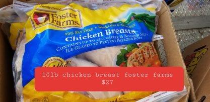 Chicken Breast Bigger breast 10lb bag