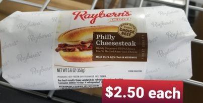 Philly cheese steak Sandwich 1-each