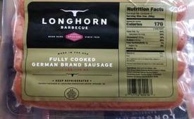 Longhorn German Sasuages 1lb Pack