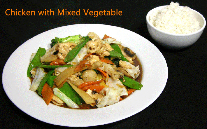C-2. Chicken with Mixed Vegetable