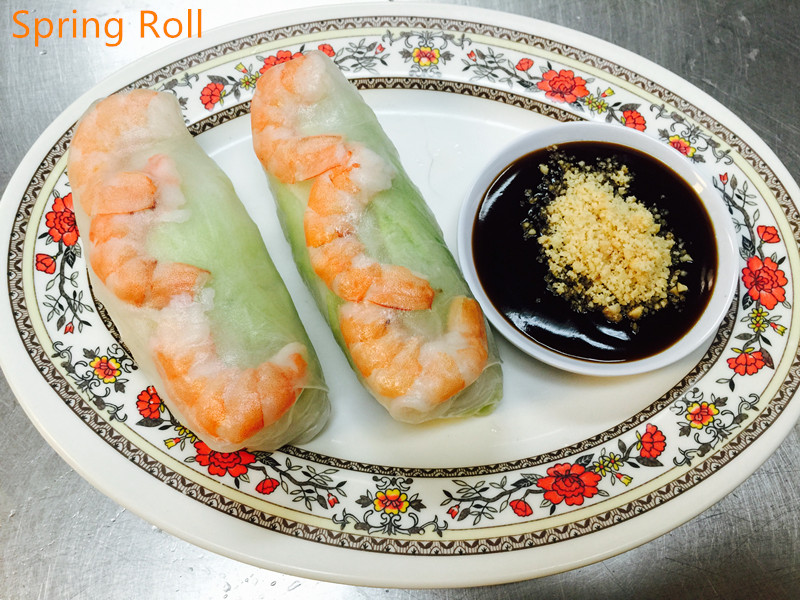 A-6. Soft Spring Roll (2 pcs)