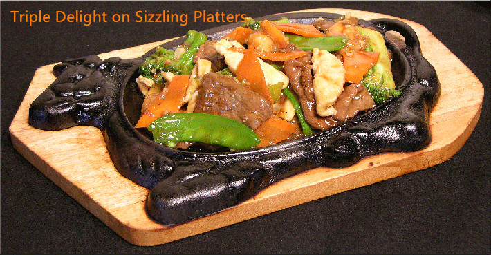SP-5. Triple Delight on Sizzling Platters Image