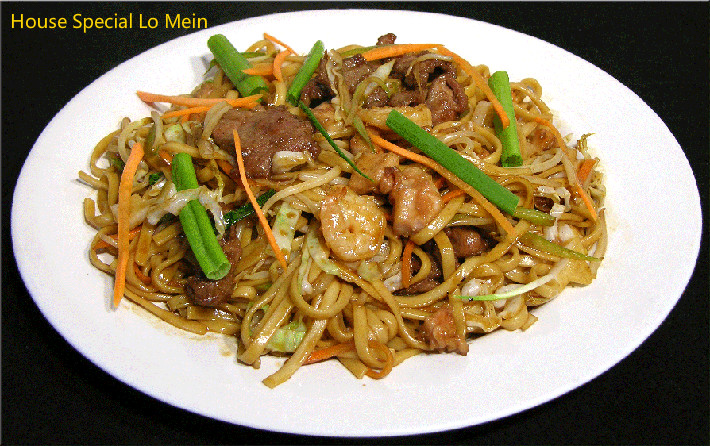 M-6. House Special Lo Mein