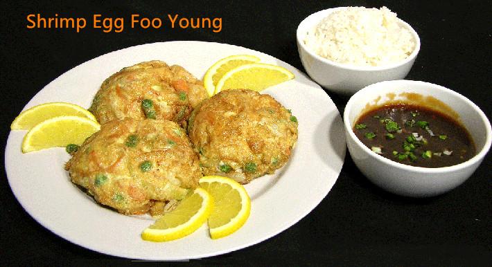 EFY-4. Shrimp Egg Foo Young Image