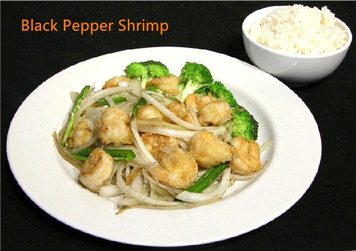 CS-5. Black Pepper Shrimp