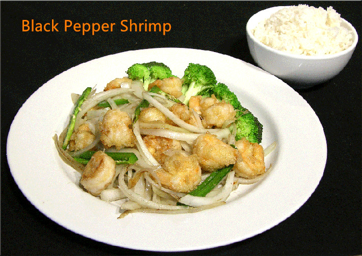 CS-5. Black Pepper Shrimp Image