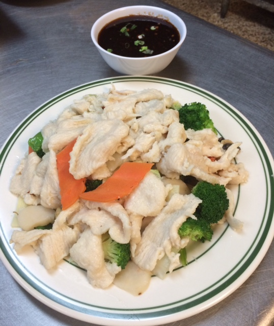 DD-3. Steamed Chicken w. Mixed Vegetables Image