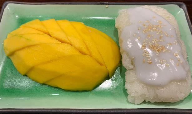 Mango w/ Sweet Sticky Rice Image