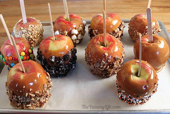 Caramel Apples Image