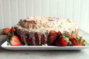 Louisiana Crunch Cake Image