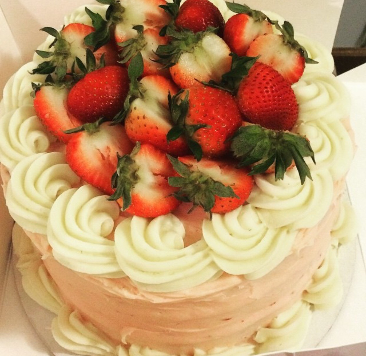 Round Layered Cake Image
