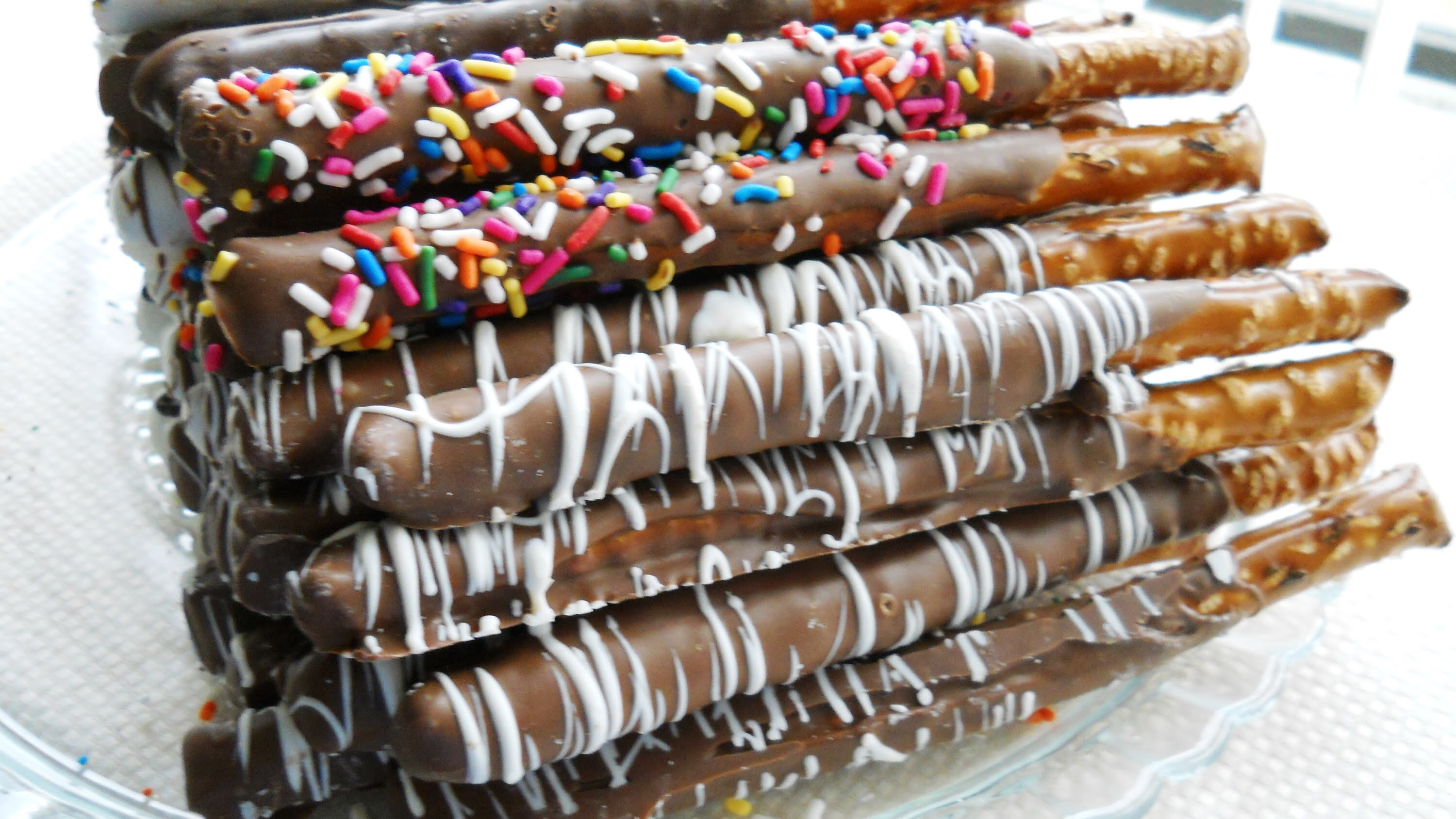 Chocolate Covered Pretzels Image