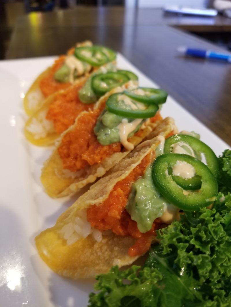 Spicy Sushi Taco Image