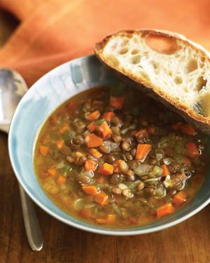 MON 9/23: Hearty Lentil Soup Image