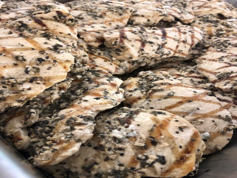 Garlic & Herb Marinated Grilled Chicken Breasts Image