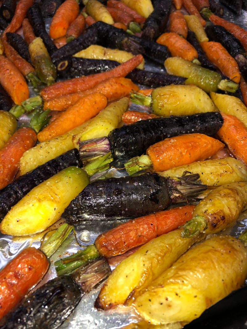 Honey Balsamic Glazed Baby Carrots Image