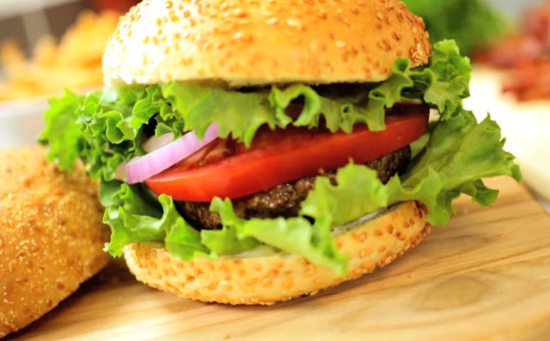 ¼ Lb. Beef Cheese Burger Image