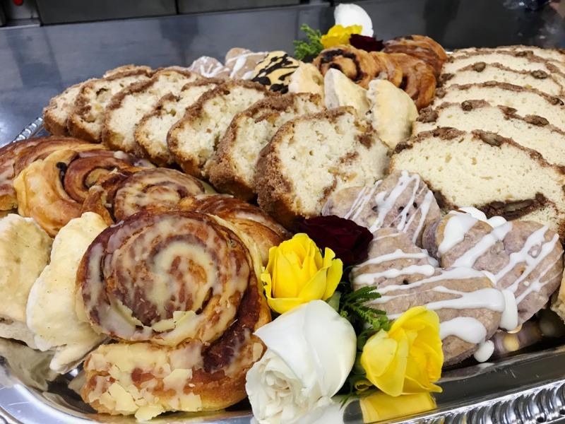 Pastry W/ Sliced Fresh Fruit Image