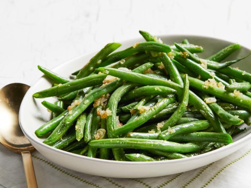 Sautéed Garlic Green Beans