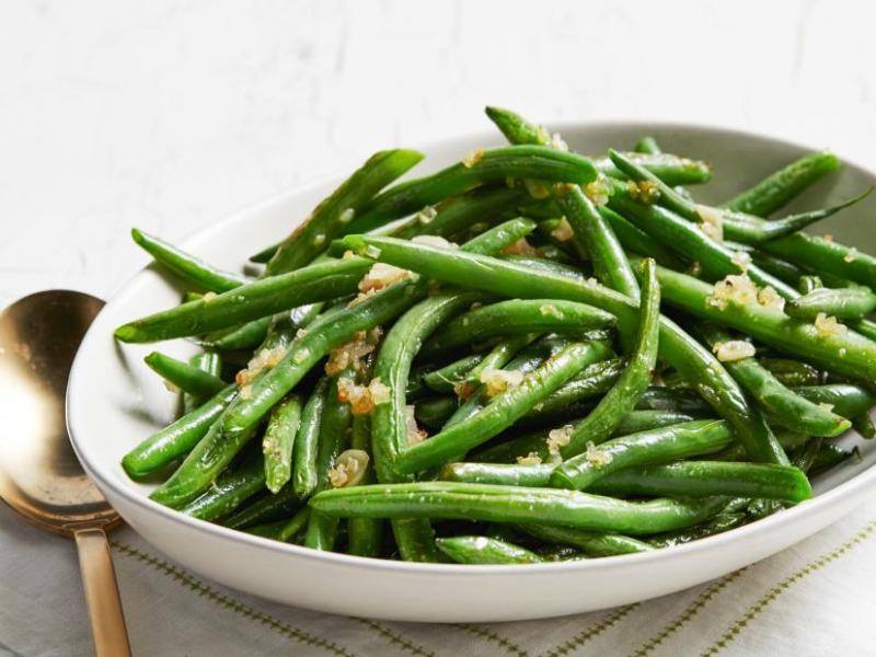Sautéed Garlic Green Beans Image