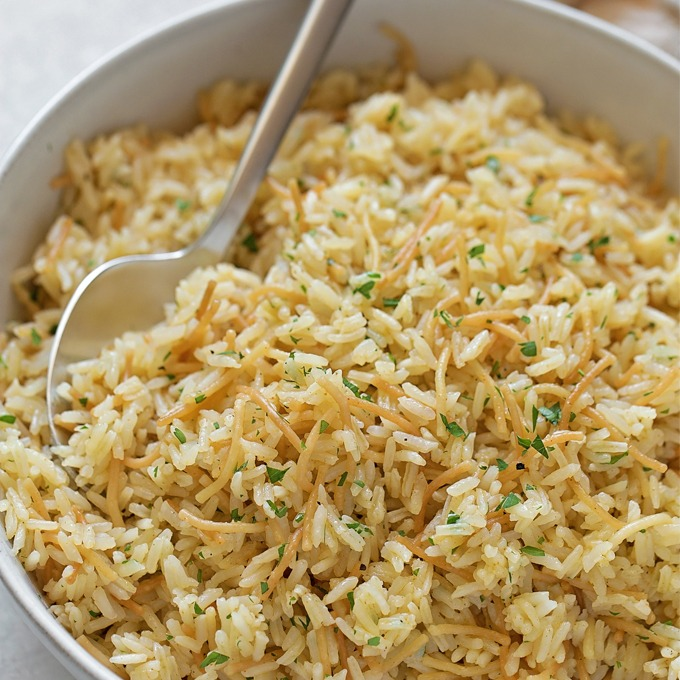 Seasoned Rice Pilaf Image