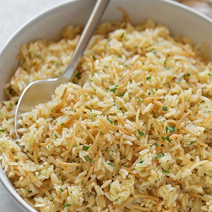 Seasoned Rice Pilaf Image