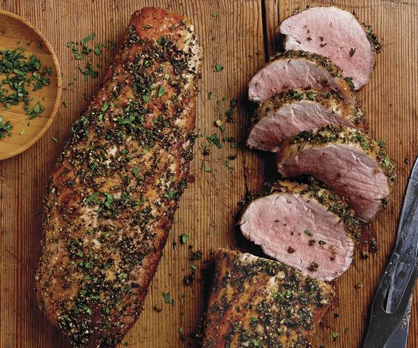 Seared Pork Loin Image