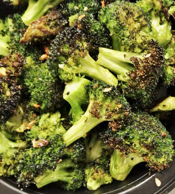 Sea Salt & Olive Oil Roasted Broccoli Image