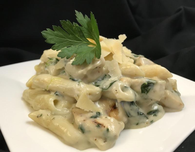 Parmesan Garlic Penne Pasta
