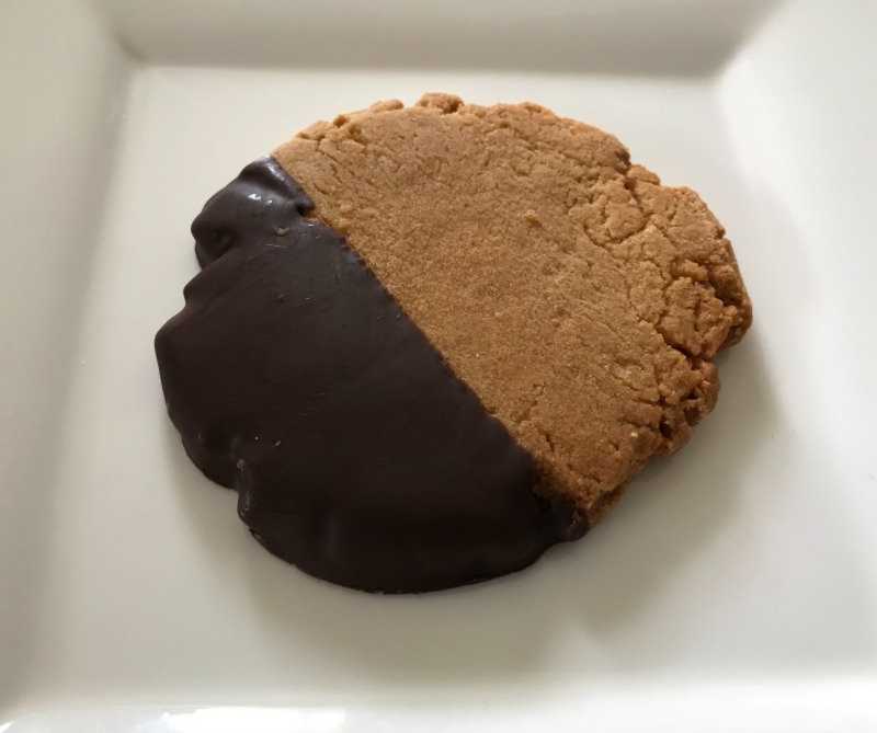Gourmet Chocolate Dipped Cookie Image