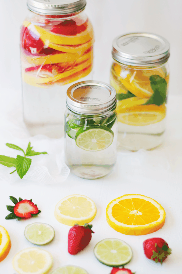Infused Waters By the Gallon