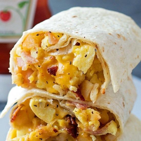 Breakfast Burritos Image