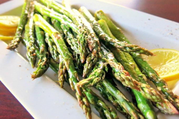 Lemon Pepper Grilled Asparagus Image
