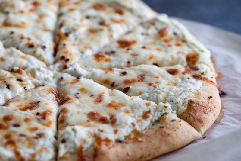Three Cheese Pizza Image