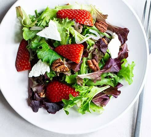 Mixed Mesclun Green Salad Image