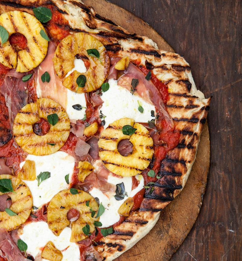 Prosciutto & Pineapple Pizza